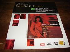 CORALIE CLEMENT - PUBLICITE SALLE DES PAS PERDUS !!!!!!
