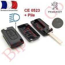 Plip coque télécommande plip 3 boutons + Citroen C2,C4, Picasso + Phare CE0523