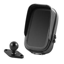 iPhone 5 SE 6 6S 7 Wasserdichte Tasche mit integriertem Blendschutz & RAM Kugel