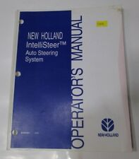 NEW HOLLAND Intellisteer Auto Steering System Operator's Manual  87428361 3/04
