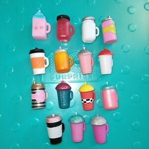 Lol Doll Accessories Bundle Bottles Cups Juice Box Sippy Cups Joblot of 15