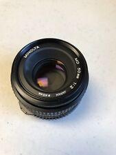 Minolta MD 55mm 1:2 49mm Camera Lens