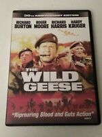 The Wild Geese (30th Anniversary Edition) DVD, Hardy Kruger, Richard Harris, Sir