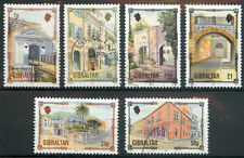 Gibraltar 1993 Architectural Heritage part set of 6 to £1 used COMBINED SHIPPING