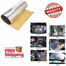 Automotive Heat And Sound Insulation Deadener Mat Hood Liner Sound Proof Sticker