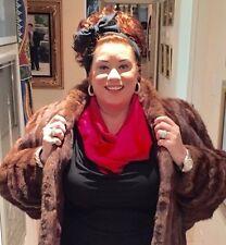 Genuine Women's Fur Stole Auburn Fully Lined