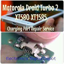 Motorola Droid Turbo 2 XtT580 XT1581 XT1585 Charging Port Repair Replacement