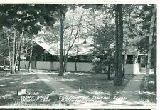ROSCOMMON,MICHIGAN-CONSERVATION TRAINING SCHOOL-STAFF HOUSE-1950-RPPC(RP#1-1394)