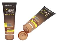 Rimmel London Sun Shimmer Water Resist Instant Tan Medium Shimmer Wash Off125ml