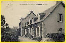 cpa 29 - PLOUGASNOU (Finistère) Le PATRONAGE KER LOUIS Jardin Hameau Ker Maria