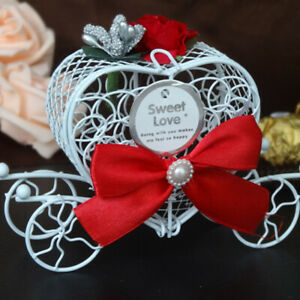 Lovely Cinderella Carriage Candy Chocolate Boxes Birthday Wedding Partys
