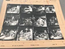 VÉRONIQUE JANNOT JL LAFFONT M. COLLARD  : PLANCHE CONTACT ORIGINALE DE 1975