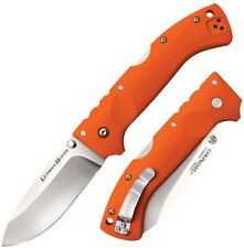 Cold Steel Ultimate Hunter Carpenter CTS XHP Alloy Blaze Orange Handle 30ULHRY