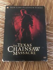 The Texas Chainsaw Massacre Dvd, 2004, 2-Disc Set