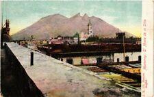 MEXICO, MONTERREY, EL MONTE DE LA SILLA, Vintage Postcard