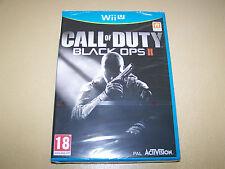 Call of Duty: Black Ops II Nintendo Wii U ** Neu & Versiegelt **