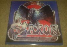 "SAXON Waiting for the Night 1986 US promo 12"" record album vinyl lp HEAVY METAL"