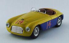Art MODEL 305 - Ferrari 166 MM Spyder #14 1er Mar del Plata Argentine 1950 1/43