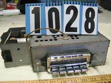 1959 Pontiac Super Deluxe Push Button Radio (1028)