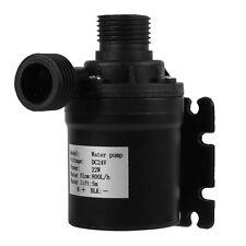 22W 800L/H Plastic Water Circulation Pump Solar Energy Brushless Motor Aquarium