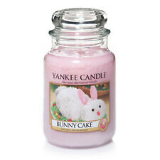 ☆☆BUNNY CAKE☆☆YANKE CANDLE LARGE JAR 22 OZ☆☆EASTER☆FREE EXPEDITED SHIPPING