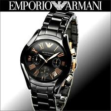 BRAND NEW Emporio Armani AR1411 Ceramic Women's Chronograph Watch