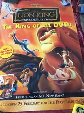 The Lion King Poster (2 Posters Stapled Back To Back)