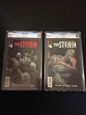 The Strain Comic #1 Regular and #1 Variant, Mint CGC Graded  9.8, FX TV Series