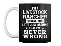 Unique Livestock Rancher Gift Coffee Mug Gift Coffee Mug