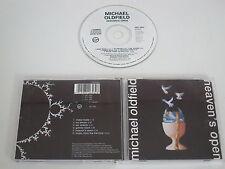 MICHAEL OLDFIELD/HEAVEN'S OPEN (VIRGIN CDV2653) CD ALBUM