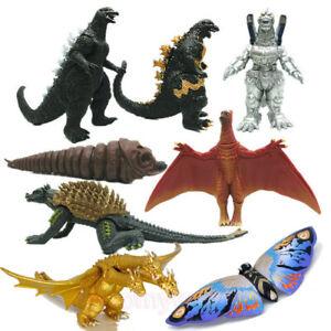 8Pcs Godzilla 2 2019 King Ghidorah Mothra Model Figures Statue Anguirus Toy Gift