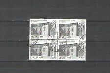 Q3467 - ITALIA - 1999 - QUARTINA USATA SCUOLE D'ITALIA - VEDI FOTO