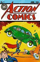 DC Mexico ACTION COMICS #1 JUNE 1938 1ST APPEARANCE & ORIGIN OF SUPERMAN Reprint
