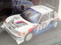 Altaya 1/43 Scale Model Car 0611IR11 - Peugeot 205 T16 E2 1000 Lakes Rally 1986