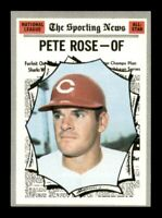 1970 Topps Set Break # 458 Pete Rose All Star NM *OBGcards*