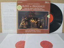 Bongiovanni GB 2005/7- Donizetti Olivo e Pasquale Bruno Rigacci/Del Carlo 3-LP