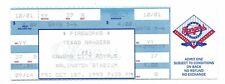 Final Weekend at Arlington Stadium Full Unused Ticket Oct 1st 1993