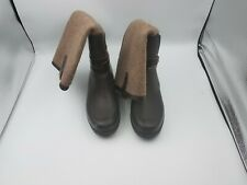 UGG Australia 1003931 Size 6 Women Kopynne Tall Knee High Rain Boots Chocolate