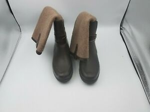UGG Australia 1003931 Size 8 Women Kopynne Tall Knee High Rain Boots Chocolate