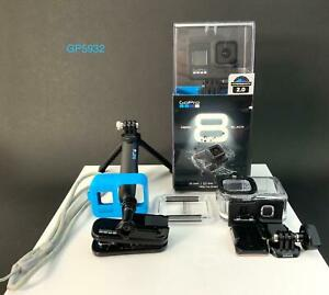 GoPro HERO8 Hero 8 Black 4K Waterproof Action Camera With Accessories CHDHX-801
