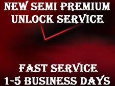 NEW AUTHENTIC SEMI PREMIUM  VERIZON UNLOCK SERVICE IPHONE X 8+ 8 7 7+ 5 5s