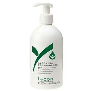 Lycon Aloe Vera Gel 500ml | Use after body wax removal | SOOTHING | Skin/Face