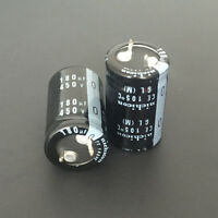 10pcs 180uF 450V Japan Nichicon GL 25x35mm 450V180uF Snap-in Capacitor