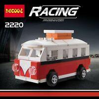 Motor Car VW T1 Cooper Smart Deco 2220 Loz Building Block iBlock a F01