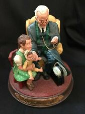 """Vintage Norman Rockwell """"Love Cures All"""" Figurine #82201 Rhodes Studio"""