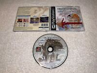 Final Fantasy Origins (PlayStation 1, 2003) PS1 Black Label Complete Excellent!