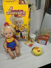 McDonaldland Happy Meal Girl and Accessories with original box as is