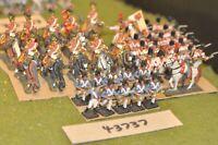 25mm napoleonic / spanish - battle group 46 figures - inf (43737)