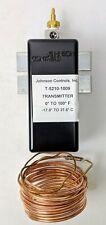 Johnson Controls T 5210 1009 Temperature Transmitter 12 Capillary 8 Ft Element