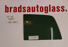 99-06 Toyota Tundra sliding rear window back slider glass RIGHT side PATCH